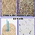 Tipos de minerales el grit